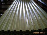 Feuille de toiture en acier ondulé pour la construction de matériel acier