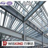 Costruzione della struttura d'acciaio della stazione ferroviaria della metropolitana
