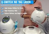 Cer Approvaled Q-Schalter Nd: YAG Laser-beweglicher Tätowierung-Abbau