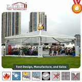Bens móveis Estrutura Mix impermeável transparente tenda para promoção do produto