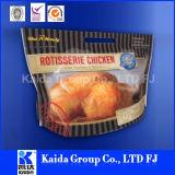 Anti-Fog asado caliente la comida de microondas Práctico bolso de pollo