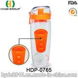 Bottiglia di acqua di plastica portatile di Infuser della frutta del nuovo prodotto 2016, bottiglia della bevanda di infusione della frutta di Tritan (HDP-0765)