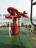 海洋の消火活動の緊急事態のための1200m3/H火のモニタ