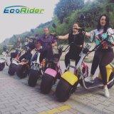 Moto électrique approuvée par la CEE de scooter du pneu 60V 12ah Citycoco de Coc grosse