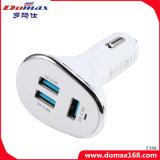 이동 전화 부속품 3 USB 연결관 철회 가능한 차 충전기