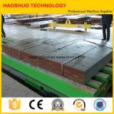 Stahlspule Decoiling, das Ausschnitt-Zeile ausrichtet