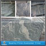 Polissage Chine Juparana / Sand Wave Granite Flooring Tiles for Kitchen
