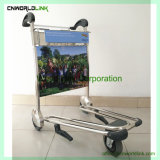 Chariots à bagages à main chariot chariots à bagages les bagages de l'aéroport chariot