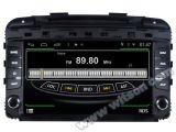 Witson S160 voor KIA Sornto 2014 GPS van de Auto DVD Speler met de spiegel-Verbinding WiFi 3G VoorDVR dvb-t van de Flits 1080P van het Scherm 1024X600 van de Kern HD van de Vierling Rk3188 16GB Pit (W2-M442)