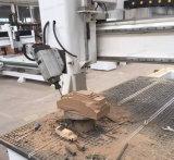 Gire o eixo do fuso 4 Máquina Router CNC de madeira para o trabalho da madeira