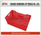 2017高品質のプラスチック野菜木枠の注入型