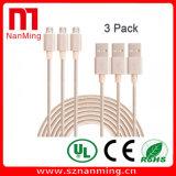 Alimentation en usine Câble tressé en nylon haute vitesse Micro USB