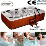Sex Massageの8人Acrylic Whirlpool Freestanding Balboa Bathtub Hot Tubs Spas
