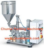 Tipo giratório manual máquina de enchimento da selagem (MS-1)