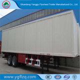Heet het bestelwagen-Type van Verkoop Koolstofstaal 3 de Bestelwagen van Assen/de Semi Aanhangwagen van de Vrachtwagen van de Doos voor Vervoer van de Lading