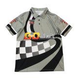 Un bon prix Healong Sublimation avec broderie logo personnalisé polo chemises pour hommes