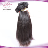 100% virgem reta de cabelo humano indiano Extensão de cabelo