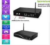 The Strongest Android Twin Tuner TV Receiver STB DVB-C