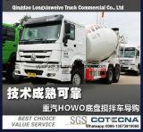 Carro del tanque del mezclador concreto de Sinotruk HOWO 6X4 10cbm 336HP