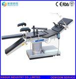 Tavolo operatorio multiuso idraulico elettrico della strumentazione dell'ospedale di uso chirurgico dei raggi X