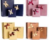 Sacchetto cosmetico dell'imballaggio dei monili dell'elemento portante di carta di arte del regalo di acquisto del sacco di carta della stampa del Kraft per la bottiglia della salsa di peperoncini rossi della salsa di soia della soia di Seasoner (a70)