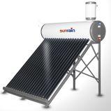 Baja presión calentador de agua solar compacto con la norma EN12976 / Certificado de la gravedad de la presión no calentador de agua solar con certificado Solar Keymark