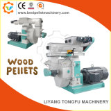 Alimentación automática Máquina de pellets de madera con anillo morir