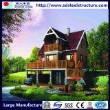 Vorfabrizierter moderner Stahllandhaus-Luxuxverkauf