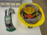多機能の無線機密保護の帽子労働者のための耐震性IP67 WiFiの機密保護のヘルメット2メートルの