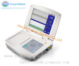 Cardiotocografia ultra-bebé Ginecologia o equipamento de diagnóstico do Monitor Fetal Máquina de CTG