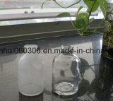 100ml USP 유형 II & III 호박색 주조된 주입 유리 작은 유리병