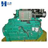 Motor Cummins diesel 6CTA8.3-G para abrir grupo electrógeno y en silencio