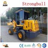 Strongbull 1.6 ton Ce cargadora de ruedas cargadora de ruedas, para la venta
