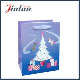 Glatten lamellierten Weihnachtsbaum-Geschenk-Beutel des Ivory Papier-3D anpassen
