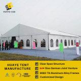 tienda del acontecimiento del palmo del claro de los 20m con PVC transparente Windows (hy083b)