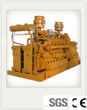 La combinación de calor y electricidad de potencia de 50kw BTU grupo electrógeno de Gas de baja