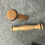 Los granos de madera del rodillo del Massager del cuidado posterior de madera de la carrocería mueven hacia atrás el Massager