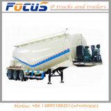 la colle 35cbm en bloc/de poudre de camion-citerne remorque sèche semi