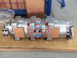 Cargadora de ruedas de Komatsu de Japón Bomba de engranaje hidráulica Ass'y para Wa300 Máquina de la bomba de cargador de Komatsu Modelo (705-55-34090.705-55-34110) Piezas