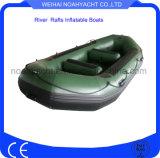 Вода рыбацкой лодки высокого качества белая сплавляет дешевое цену шлюпки сплотка реки для сбывания
