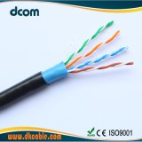 China más de 10 años el fabricante del cable Cat 5 cable LAN de cobre 24 AWG 1000 pies de Cable de cobre puro
