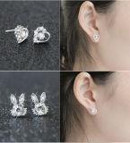 2017 marca la moda de Rhinestones Stud Earrings