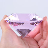 Crystal Diamond Paperweight Gift for Valentine's Day Wedding Decoration