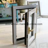 Interrupção térmica branca Janela Casement de alumínio