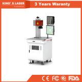máquina de soldadura Desktop do metal do soldador do laser da fibra 150W com CCD