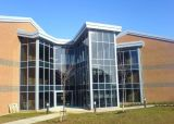 Parede de cortina de vidro de alumínio do standard alto (JINBO)