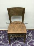 Restauant (FOH-BCC32)를 위한 높이 Foshan 공장 뒤 오래된 목제 의자