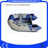 Barco de pesca inflable ligero con el suelo de aluminio (RXK240A)