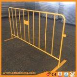 Barrière de contrôle des foules en métal galvanisé