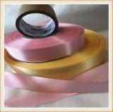 Zweiseitiges Großhandels-Polyester-Satin-Farbband